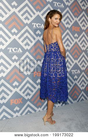 LOS ANGELES - AUG 8:  Tricia Helfer at the FOX TCA Summer 2017 Party at the Soho House on August 8, 2017 in West Hollywood, CA