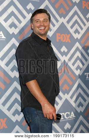 LOS ANGELES - AUG 8:  Tom Welling at the FOX TCA Summer 2017 Party at the Soho House on August 8, 2017 in West Hollywood, CA