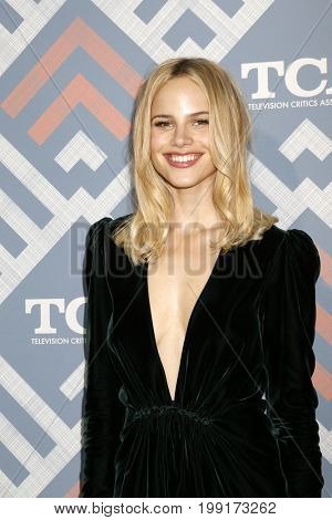 LOS ANGELES - AUG 8:  Halston Sage at the FOX TCA Summer 2017 Party at the Soho House on August 8, 2017 in West Hollywood, CA