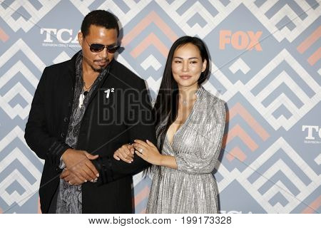 LOS ANGELES - AUG 8:  Terrence Howard, Miranda Pak at the FOX TCA Summer 2017 Party at the Soho House on August 8, 2017 in West Hollywood, CA