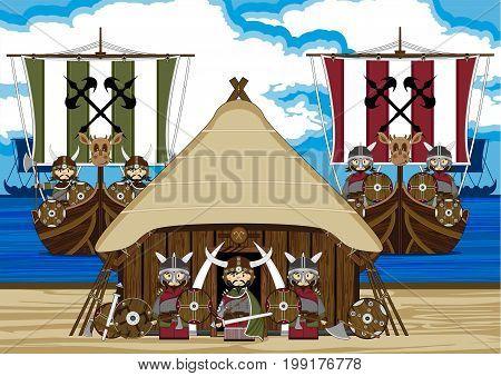 Mini Fierce Viking Scene