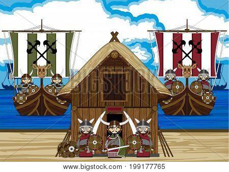 Mini Viking Scene