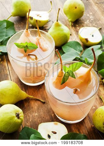 Sweet Pear Compote
