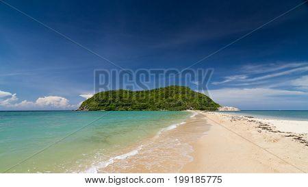 View of Koh Maa at mae haad beach