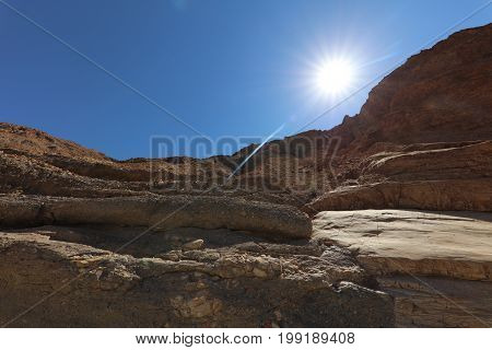 Mosaic Canyon in Death Valley National Park. California. USA