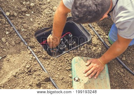 Settings Drip Irrigation Valve Box With Valves 2