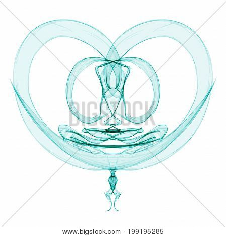 Abstract Symmetry Figure