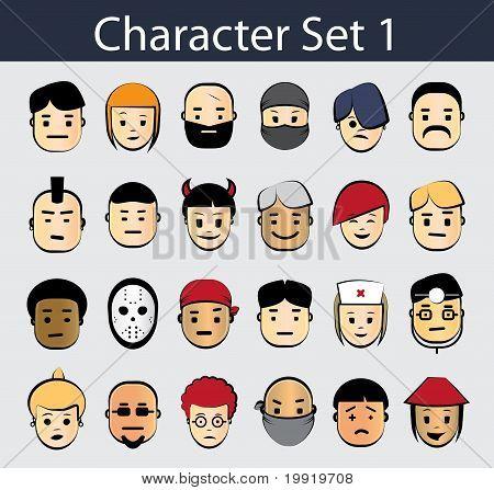 Character Icon Set