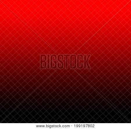 Abstract lines layer with red and black background