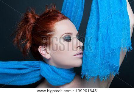 Fashionable Portrait Of Beautiful Model