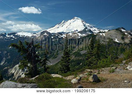 Mountain Landscape Mountain Baker Washington United States