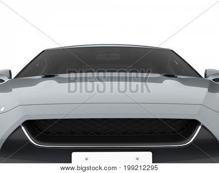 3D rendering brandless car part illustration