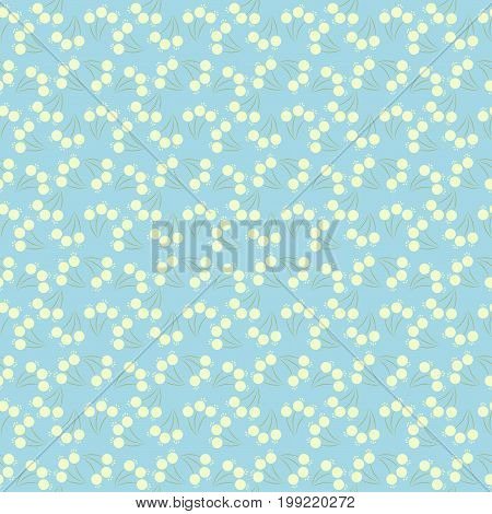 Cute Floral pattern in the small flower. Ditsy print.