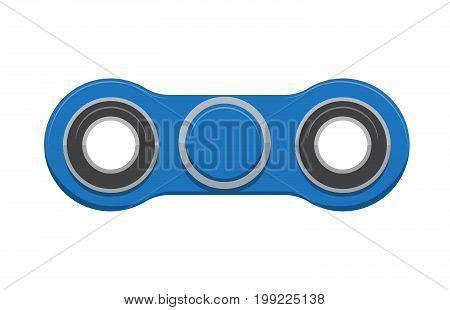 Spinner. New popular anti-stress toy. Vector Illustration. EPS10