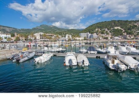 View Over Marina And Boats