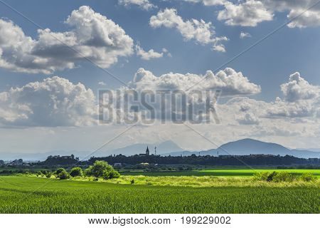 Picturesque Countryside Landscape