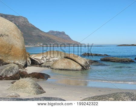 FROM CAMPS BAY,  CAPE TOWN, SOUTH AFRICA, ON A CLEAR SUMMERS DAY 37