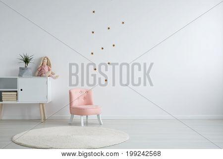 Scandi Style Girl's Bedroom