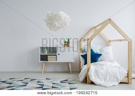 Elegant Scandi Kid's Room