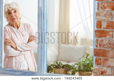 Woman With Her Arms Crossed