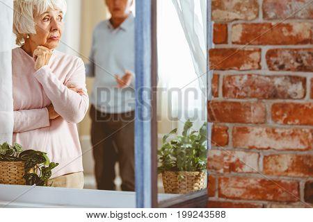 Lady Ignoring Her Husband