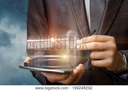 Keywords As Key On The Virtual Screen.