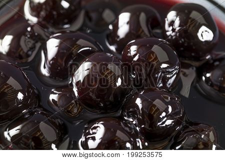 Fancy Dark Maraschino Cocktail Cherries