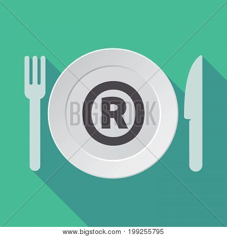 Long Shadow Tableware With    The Registered Trademark Symbol