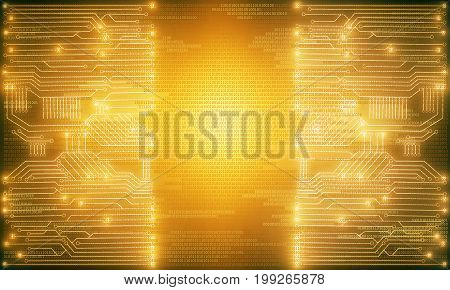 Bright Circuit Background