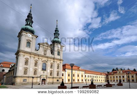 Cathedral in Velehrad, southern Moravia, Czech republic