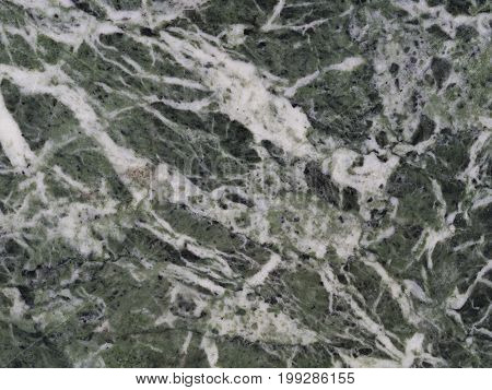 Green White Black Polished Granite Marble Wall  - Background Texture