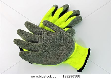 An Image of working gloves - safety