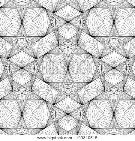 Geometric Wire Line Structure...