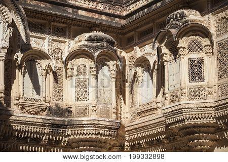 Mehrangarh Fort In Jodhpur, Rjasthan, India