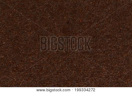 Dark brown paper box texture. High resolution photo.