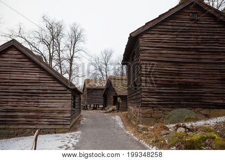 Traditional Norwegian Houses. The Norwegian Museum of Cultural History, Oslo.