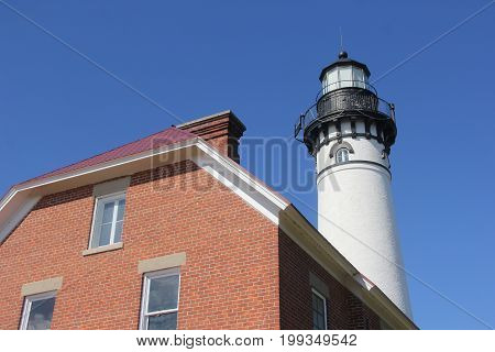Au Sable Light Station, Pictured Rocks National Lakeshore, Upper Peninsula of Michigan
