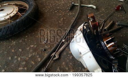 repair shop image or repair shop background