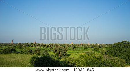 Landscape Of Bagan, Myanmar