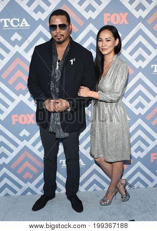 LOS ANGELES - AUG 08:  Terrence Howard and Miranda Pak arrives for the FOX TCA Summer Press Tour 2017 on August 8, 2017 in West Hollywood, CA