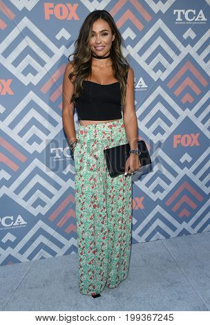 LOS ANGELES - AUG 08:  October Gonzalez arrives for the FOX TCA Summer Press Tour 2017 on August 8, 2017 in West Hollywood, CA