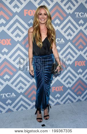 LOS ANGELES - AUG 08:  Cat Deeley arrives for the FOX TCA Summer Press Tour 2017 on August 8, 2017 in West Hollywood, CA