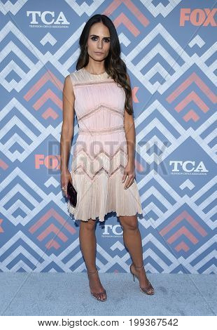 LOS ANGELES - AUG 08:  Jordana Brewster arrives for the FOX TCA Summer Press Tour 2017 on August 8, 2017 in West Hollywood, CA