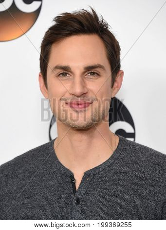 LOS ANGELES - AUG 06:  Andrew J. West arrives for the ABC TCA Summer Press Tour 2017 on August 6, 2017 in Beverly Hills, CA