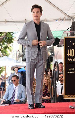LOS ANGELES - JUL 26:  Jason Bateman Walk of Fame honors Jason Bateman on July 26, 2017 in Hollywood, CA