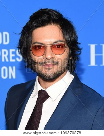 LOS ANGELES - AUG 02:  Ali Fazal arrives for the HFPA's Grants Banquet on August 2, 2017 in Beverly Hills, CA