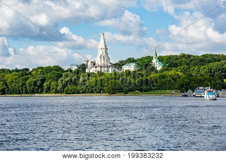 Church Of The Ascension In Kolomenskoye, Moscow, Russia