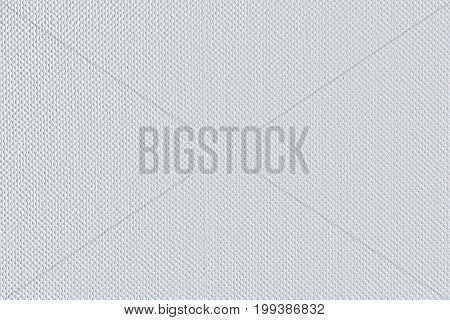 Background from white coarse canvas texture. Clean background. Image with copy space and light place for your design project.