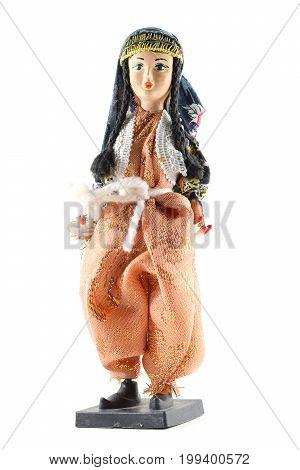 Woman Gypsy Doll