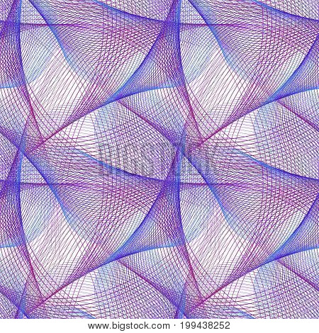 Seamless abstract computer generated fractal pattern background